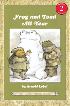 Frog and Toad All Year, Lobel, Arnold