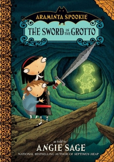 Araminta Spookie 2: The Sword in the Grotto, Sage, Angie