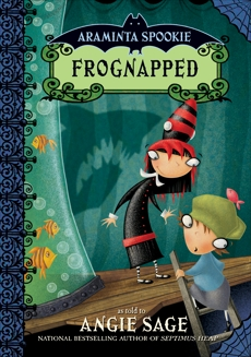Araminta Spookie 3: Frognapped, Sage, Angie