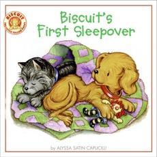 Biscuit's First Sleepover, Capucilli, Alyssa Satin