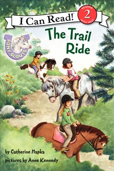 Pony Scouts: The Trail Ride, Hapka, Catherine