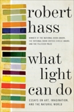 What Light Can Do: Essays on Art, Imagination, and the Natural World, Hass, Robert