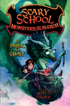 Scary School #2: Monsters on the March, Ghost, Derek the