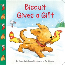 Biscuit Gives a Gift, Capucilli, Alyssa Satin