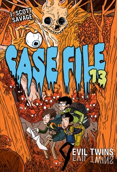 Case File 13 #3: Evil Twins, Savage, J. Scott
