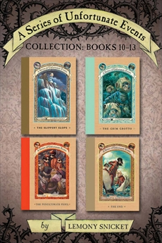 A Series of Unfortunate Events Collection: Books 10-13, Snicket, Lemony
