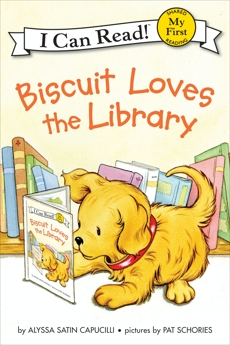 Biscuit Loves the Library, Capucilli, Alyssa Satin