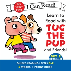 Learn to Read with Tug the Pup and Friends! Set 2: Books 6-10, Wood, Dr. Julie M.