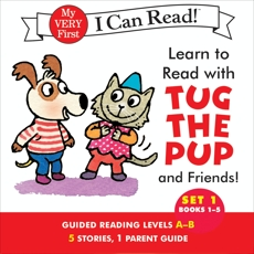 Learn to Read with Tug the Pup and Friends! Set 1: Books 1-5, Wood, Dr. Julie M.