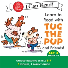 Learn to Read with Tug the Pup and Friends! Set 3: Books 1-5, Wood, Dr. Julie M.