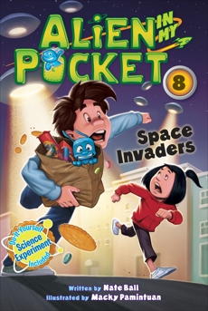 Alien in My Pocket #8: Space Invaders, Ball, Nate