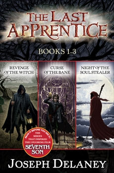 Last Apprentice 3-Book Collection: Revenge of the Witch, Curse of the Bane, Night of the Soul Stealer, Delaney, Joseph