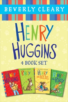 Henry Huggins 4-Book Collection: Henry Huggins, Ribsy, Henry and Beezus, Henry and Ribsy, Cleary, Beverly