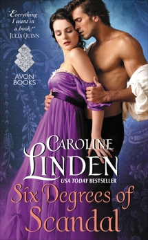 Six Degrees of Scandal: Scandalous Series, Linden, Caroline