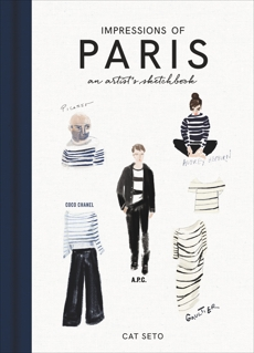 Impressions of Paris: An Artist's Sketchbook, Seto, Cat