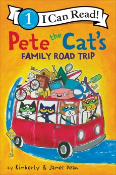 Pete the Cat's Family Road Trip, Dean, Kimberly & Dean, James