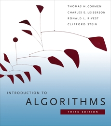 Introduction to Algorithms, third edition, Leiserson, Charles E. & Rivest, Ronald L. & Stein, Clifford & Cormen, Thomas H.