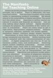 The Manifesto for Teaching Online, Bayne, Sian & Ewins, Rory & Knox, Jeremy & Lamb, James & Evans, Peter