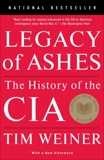 Legacy of Ashes: The History of the CIA, Weiner, Tim