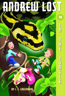 Andrew Lost #15: In the Jungle, Greenburg, J. C.