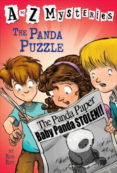 A to Z Mysteries: The Panda Puzzle, Roy, Ron