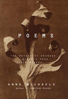 Poems, Michaels, Anne