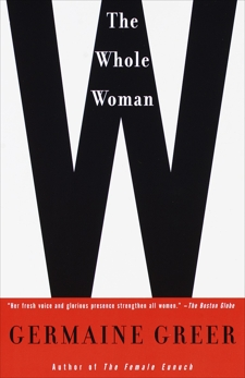 The Whole Woman, Greer, Germaine