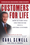 Customers for Life: How to Turn That One-Time Buyer Into a Lifetime Customer, Sewell, Carl & Brown, Paul B.