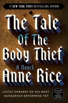 The Tale of the Body Thief, Rice, Anne