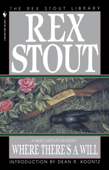 Where There's a Will, Stout, Rex