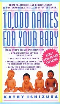 10,000 Names for Your Baby, Ishizuka, Kathy