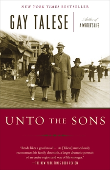 Unto the Sons, Talese, Gay