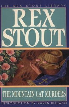 The Mountain Cat Murders: A Novel, Stout, Rex