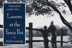 Lessons at the Fence Post, Cummings, Paul D.