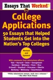 Essays that Worked for College Applications: 50 Essays that Helped Students Get into the Nation's Top Colleges, Curry, Boykin & Kasbar, Brian