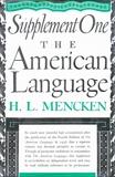 American Language Supplement 1, Mencken, H. L. & Mencken, H.L.