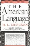 American Language, Mencken, H.L.
