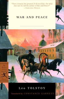 War and Peace, Tolstoy, Leo