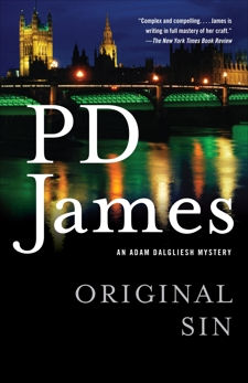 Original Sin, James, P. D.