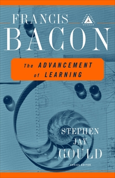 The Advancement of Learning, Bacon, Francis