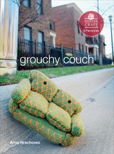 Grouchy Couch: E-pattern from Knitting Mochimochi, Hrachovec, Anna