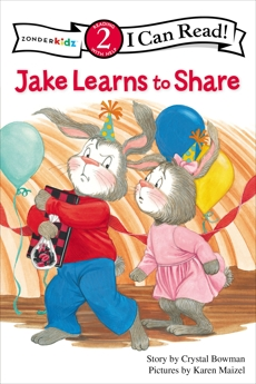 Jake Learns to Share: Level 2, Bowman, Crystal