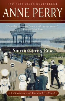 Southampton Row: A Charlotte and Thomas Pitt Novel, Perry, Anne