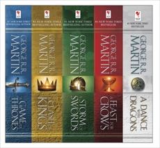 George R. R. Martin's A Game of Thrones 5-Book Boxed Set (Song of Ice and Fire  Series): A Game of Thrones, A Clash of Kings, A Storm of Swords, A Feast for Crows, and  A Dance with Dragons, Martin, George R. R.