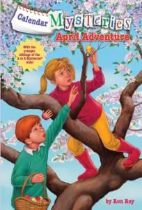 Calendar Mysteries #4: April Adventure, Roy, Ron