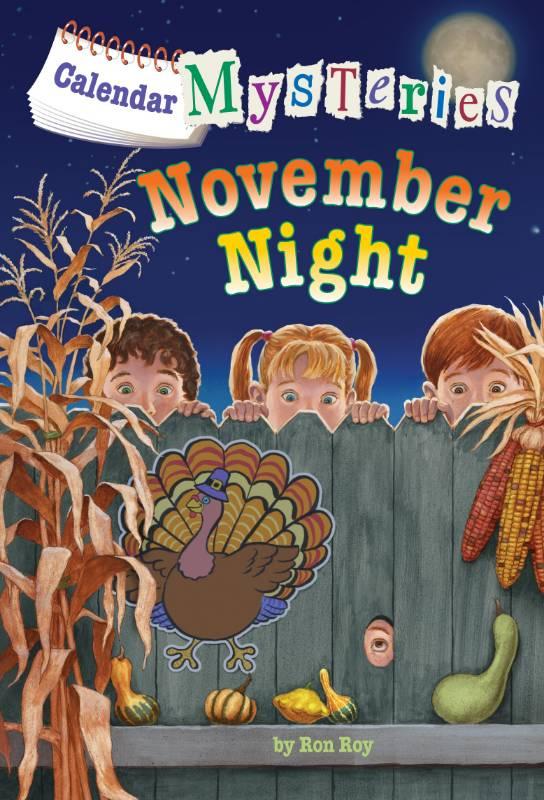 Calendar Mysteries #11: November Night, Roy, Ron