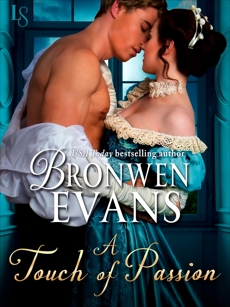 A Touch of Passion: A Disgraced Lords Novel, Evans, Bronwen