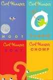 Carl Hiaasen 4-Book Collection: Hoot; Flush; Scat; Chomp, Hiaasen, Carl