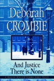 And Justice There Is None, Crombie, Deborah