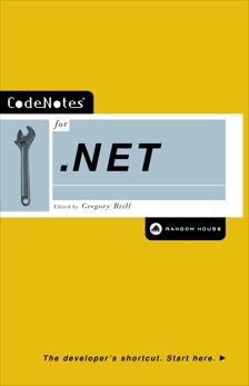 CodeNotes for .NET, Brill, Gregory